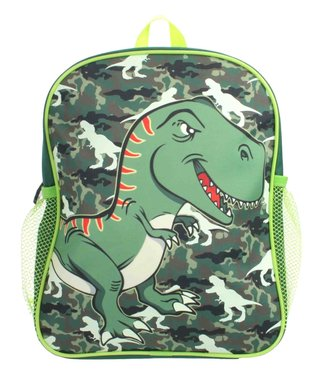 William Lamb Rugzak dinosaurus jongens groen 30 cm - glow in the dark