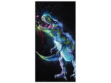 Strand/Badlaken T-rex - (70 x 140 cm)