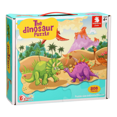 208 stukjes Mega Puzzel The Dinosaur