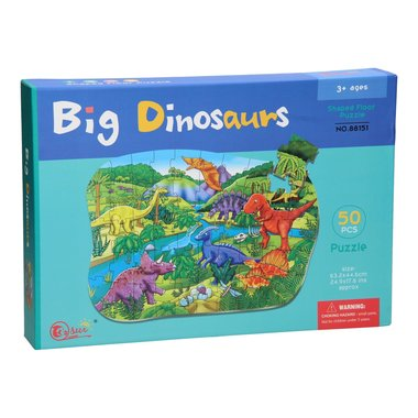 50 stukjes Big Dinosaurs puzzel