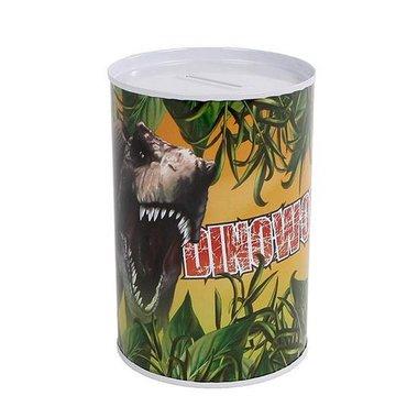 Dinosaurus spaarpot (metaal)