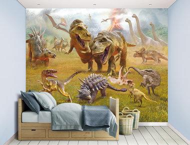 NIEUW! Dinosaurus XXL Posterbehang (243,8 x 304,8 cm) (Walltastic)