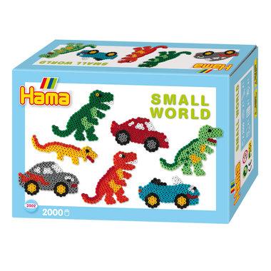 Dinosaurussen en Auto's - strijkkralen (2000)