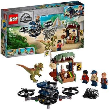 LEGO: Jurassic World Diplophosaurus ontsnapt