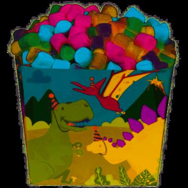 Uitdeelbakjes (6x) (Verjaardagsfeest)