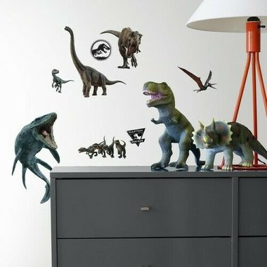 Jurassic World Muurstickers (Roommates)