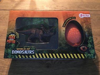 Speelgoed Triceratops + Verrassings-ei