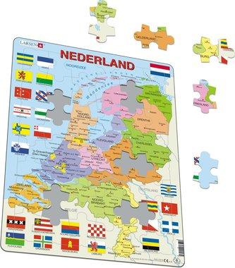 48 stukjes Nederland puzzel (Larsen)
