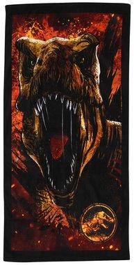 Jurassic World handdoek - Rood