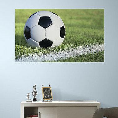 Voetbalsticker - (91 x 152 cm)