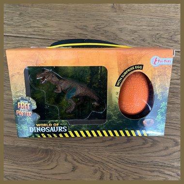 Speelgoed T-rex + Verrassings-ei