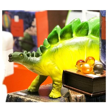 Stegosaurus lamp (groen)