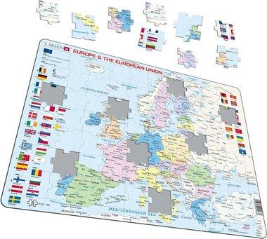 70 stukjes Europa & Europese Unie puzzel (Larsen)