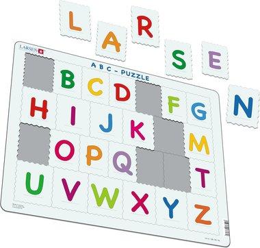 26 stukjes ABC puzzel (Larsen)