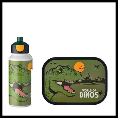 Dinosaurus Mepal set (drinkfles + lunchbox)