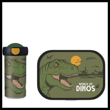 Schoolbeker & Lunchbox Mepal set (Dino) (kadoverpakking)