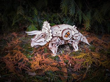 Triceratops Modelbouw (Eco-Wood-Art)
