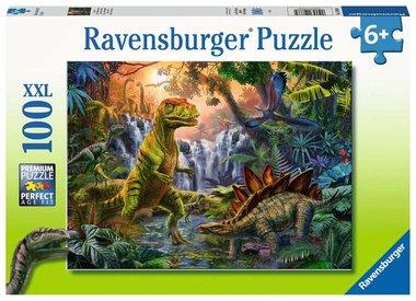 100 stukjes XXL Dinosaurus puzzel