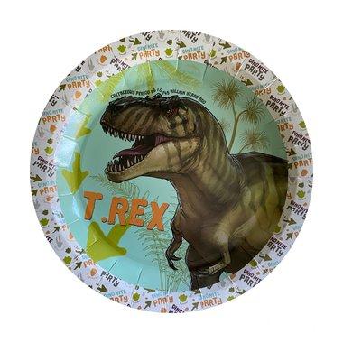 Bordjes (8x) (Dinomite party)
