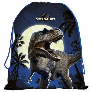 Dinosaurus (zwemtas/gymtas) T-rex blauw