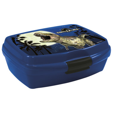 Dinosaurus Lunchbox/broodtrommel Blauw