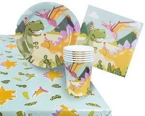 ..Dinosaurus Verjaardagsfeest - Feestpakket (6 pers.)