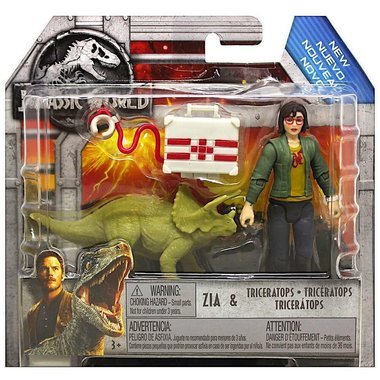 Jurassic World - Zia & Triceratops