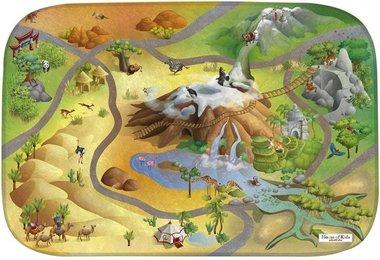 Dinosaurus speelmat (100 x 150 cm)