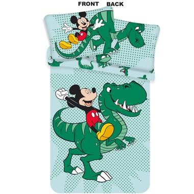 Mickey Mouse Dinosaurus Baby/Peuter Dekbedovertrek - 100 x 135 cm