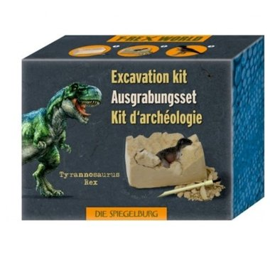 Dig it out: T-rex opgraafset