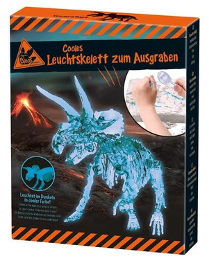 Dig it out: Triceratops (glow in the dark)