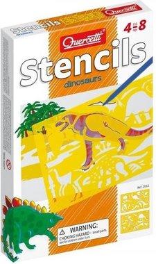 Dinosaurus Sjablonen (2x)