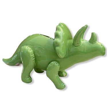 Dinosaurus Spaarpot Triceratops (groen)