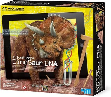 Triceratops DNA Opgravings Set
