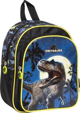 Peuter/Kleuterrugzak Dinosaurus - blauw