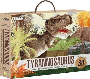 T-rex 3D model met informatieboekje