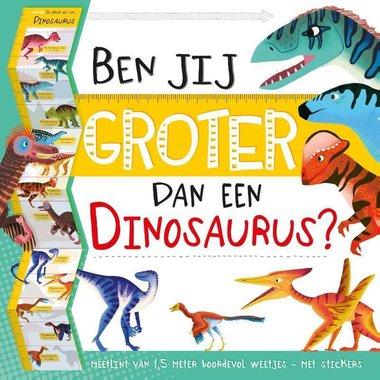 Groeimeter: Ben jij groter dan een dinosaurus