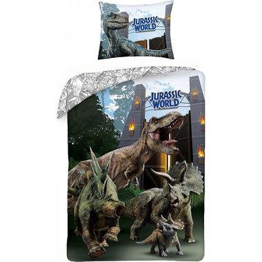 Jurassic World Dekbedovertrek T-rex (140x200cm)