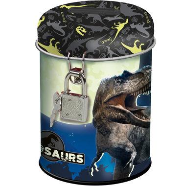 Dinosaurs spaarpot incl. 2 sleutels