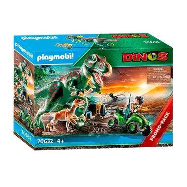 T-rex aanval - Playmobil