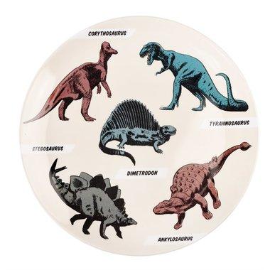Dinosaurus ontbijtbordje