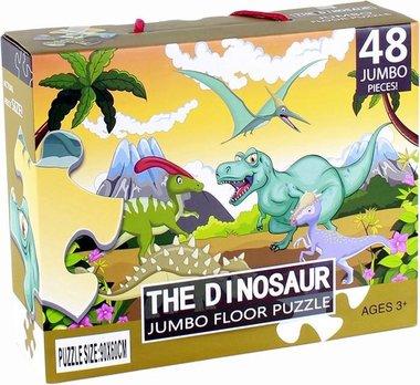 48 stukjes Dinosaurus Jumbo Puzzel