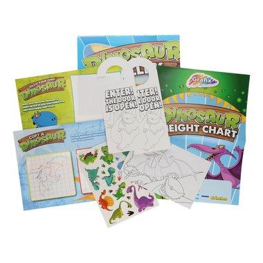 Kleur & spelletjes tas voor op reis
