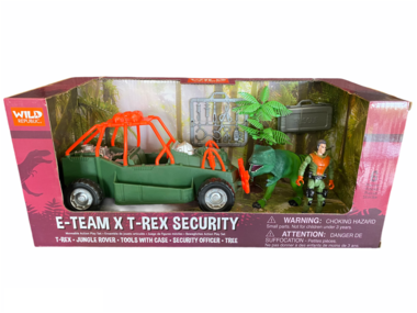 Dinosaurus speelset - E-team X T-rex security