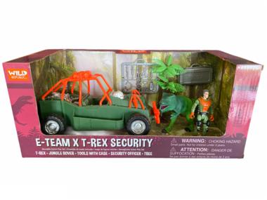 Dinosaurus speelset - E-team X T-rex security