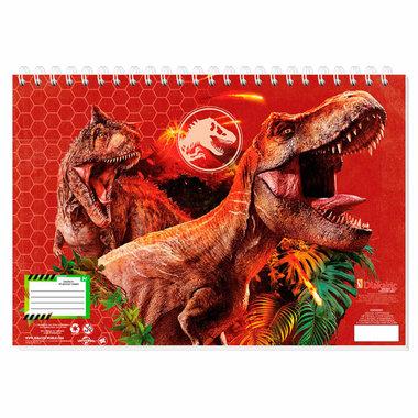 Jurassic World Schetsboek - rood