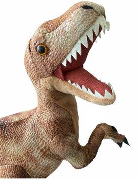 Velociraptor knuffel - lengte 36 cm