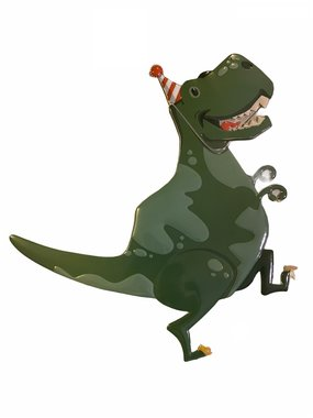 Dinosaurus Wanddecoratie Feest (Verjaardagsfeest)