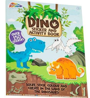 Dinosaurus sticker & activiteitboek