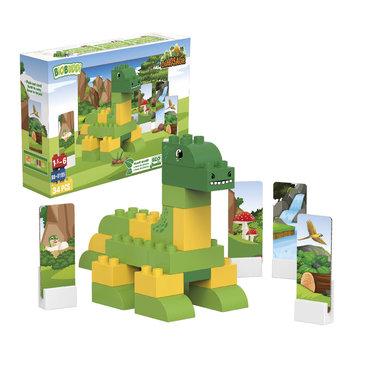 BiOBUDDi: Brontosaurus bouwset (34dlg)